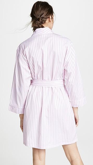 Пижама BedHead Халат в розовую полоску