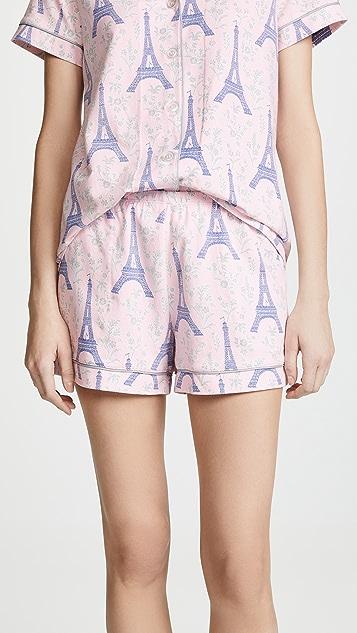 BedHead Pajamas Colette's Eiffel PJ Set