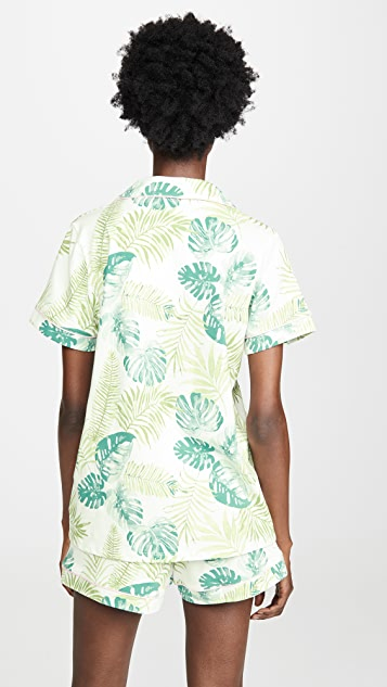 Пижама BedHead Классическая пижама Island Palm