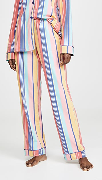 BedHead Pajamas Seaside 条纹经典睡衣套装