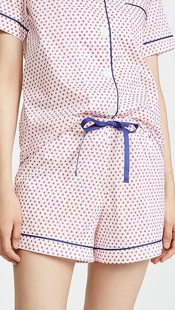 BedHead Pajamas Jill Dots Classic Shorts PJ