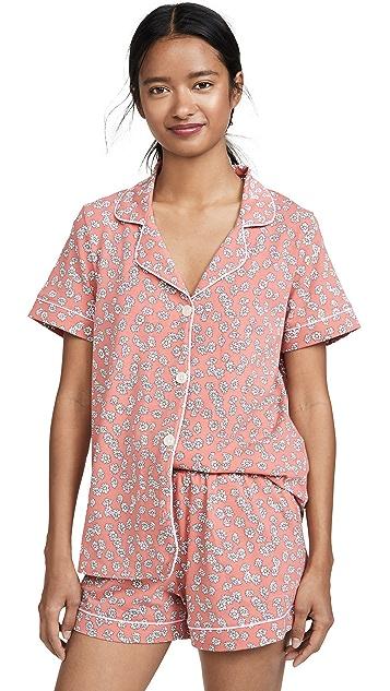 BedHead Pajamas Lazy Daisy Classic Shorts PJ Set