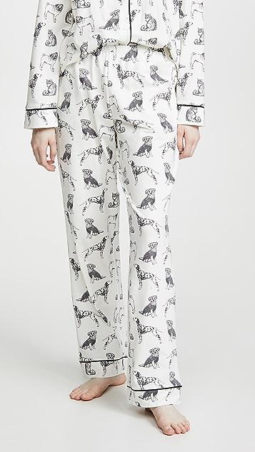 BedHead Pajamas Dog Days Classic PJ Set