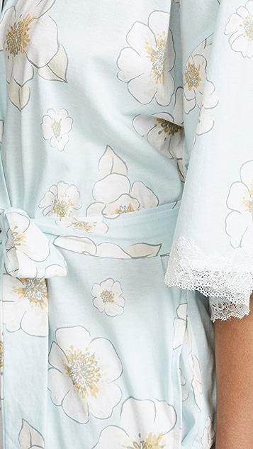 BedHead Pajamas Bridal Floral Kimono Robe