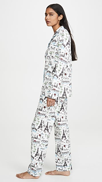 BedHead Pajamas Sightseeing 经典睡衣套装