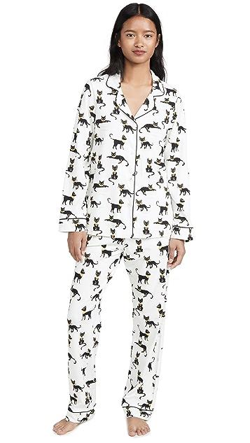 Пижама BedHead Классическая пижама Cairo Kitten