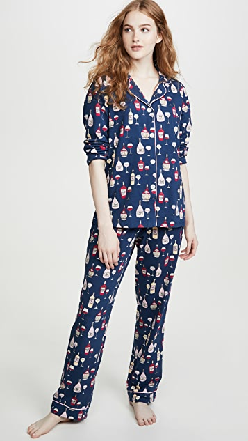 BedHead Pajamas Wine Tasting Classic PJ Set