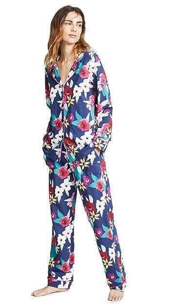 BedHead Pajamas Painter's Floral Long PJ Set