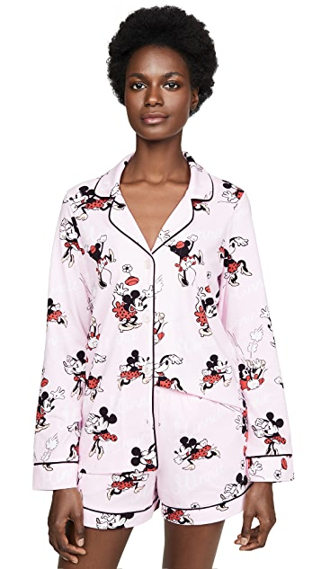 BedHead Pajamas Vintage Minnie Shorty PJ Set
