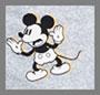 复古米老鼠图案