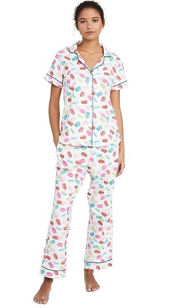 BedHead Pajamas Les Macarons 短袖睡衣套装