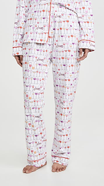 BedHead Pajamas Happy Hour 经典睡衣套装