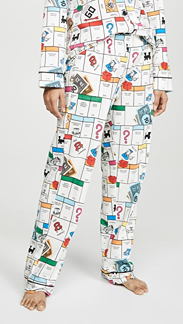 Пижама BedHead Пижама BedHead x Monopoly Gameboard