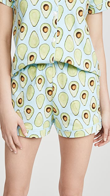 BedHead Pajamas Avocuddle Shorty PJ Set