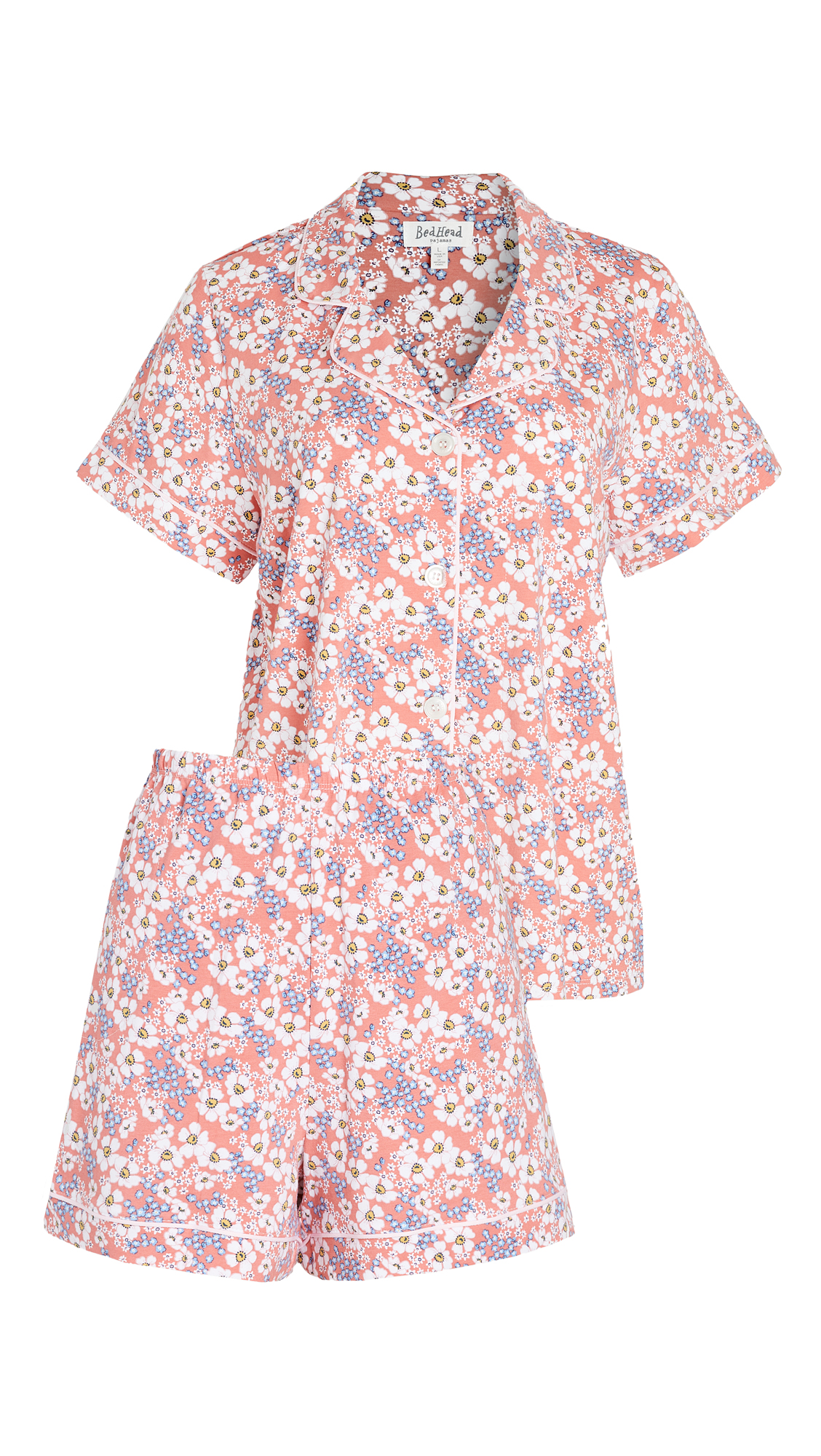 BedHead Pajamas Meadows Short Sleeve Classic Shorty PJ Set