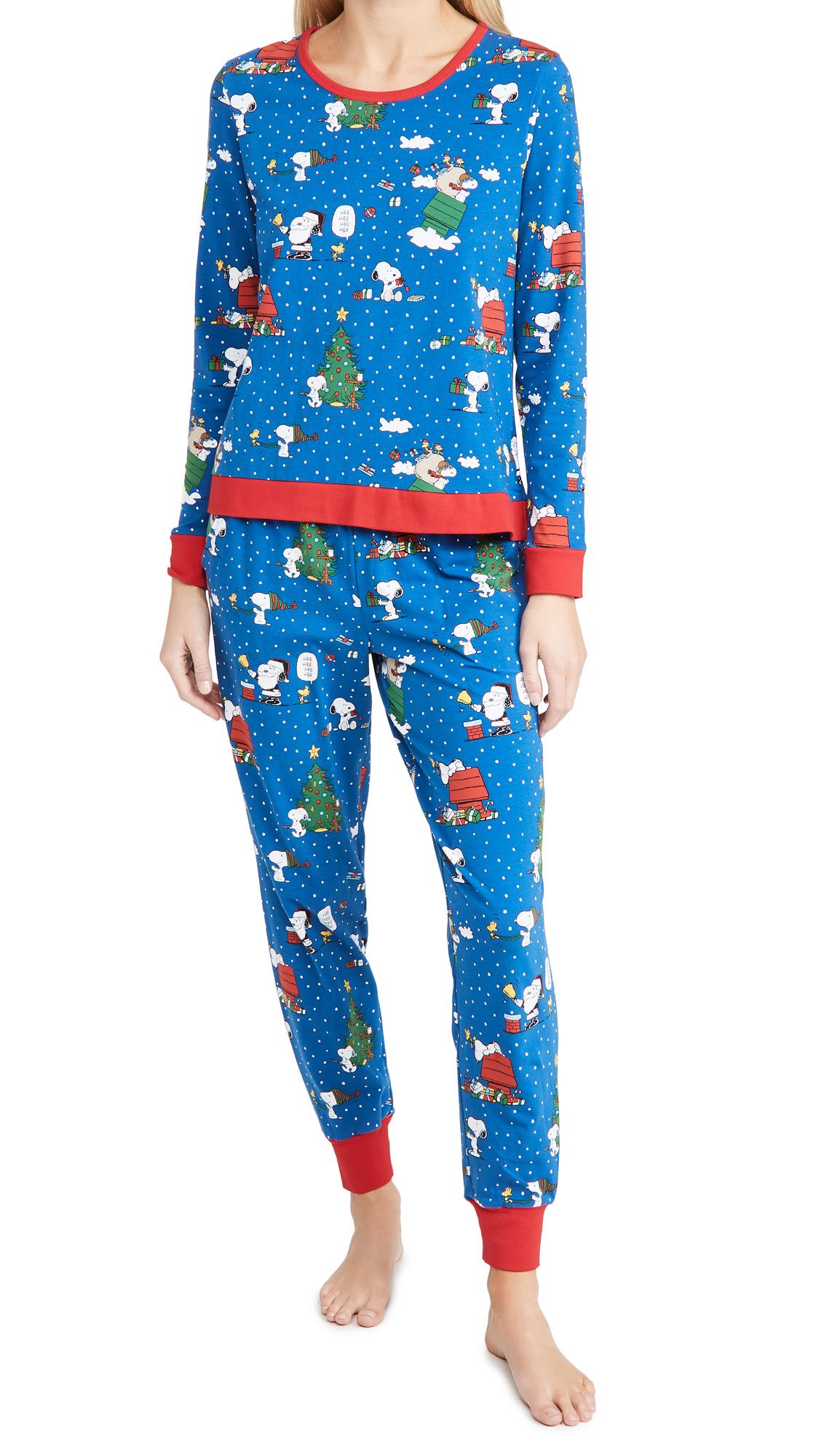 BedHead Pajamas Long Sleeve Crew Pullover & Joggers Set