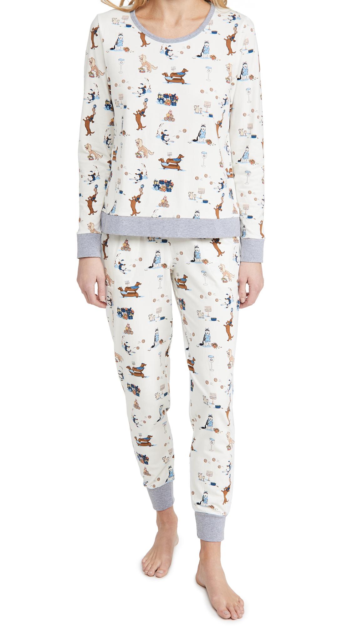 BedHead Pajamas Crew Pullover & Jogger Set