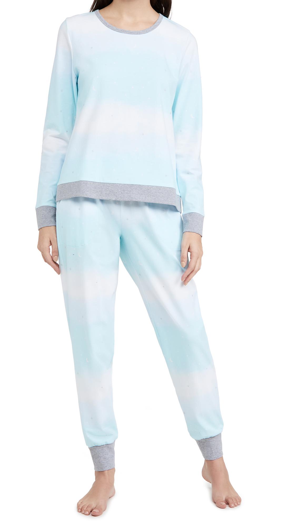 BedHead Pajamas Pullover Crew & Joggers Set