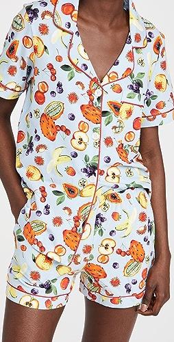 BedHead Pajamas - Forbidden Fruit Shorty PJ Set