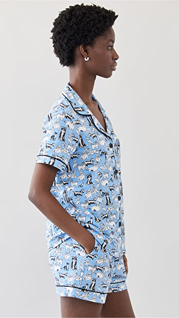 BedHead Pajamas 经典短睡衣套装