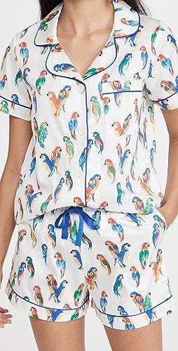 BedHead Pajamas - Short Sleeve Classic Shorty PJ Set
