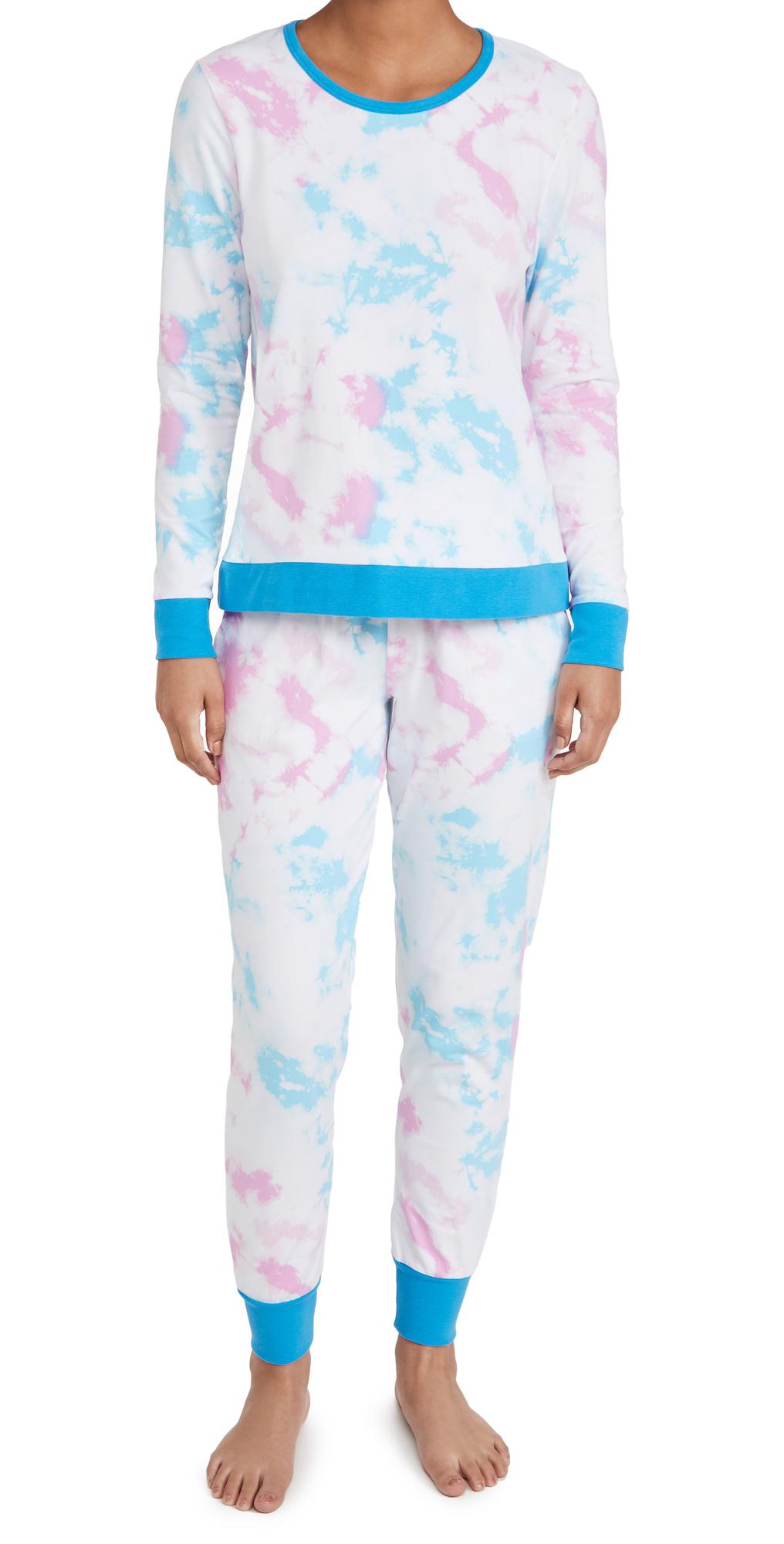 Crew Pullover Jogger Pajama Set
