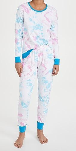 BedHead Pajamas - Crew Pullover Jogger Pajama Set