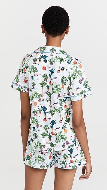 BedHead Pajamas 经典短袖短睡衣套装