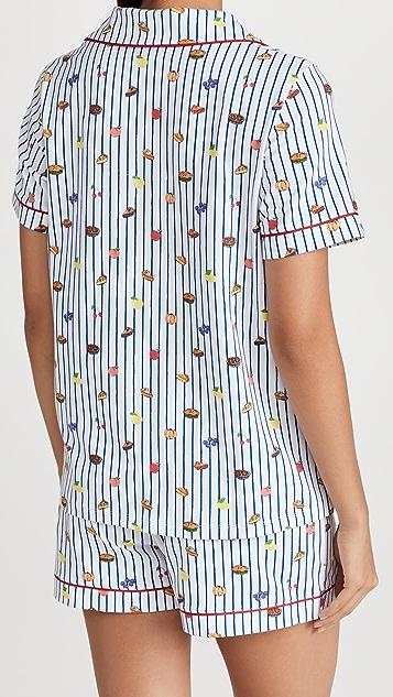 BedHead Pajamas 经典短袖短款套装