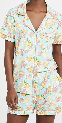 BedHead Pajamas - Classic Shorty PJ Set