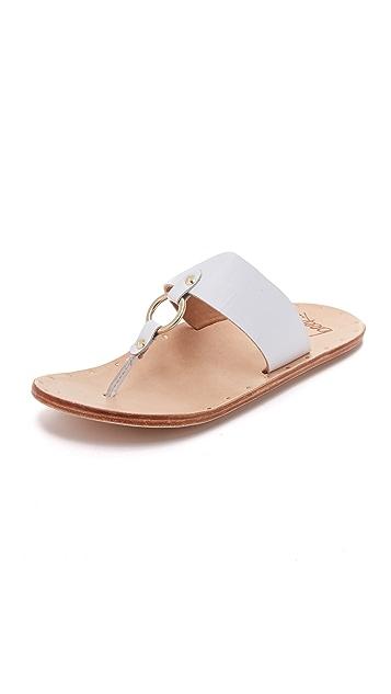 beek Kiwi Thong Slides