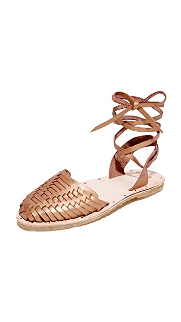 beek Parakeet Wrap Sandals