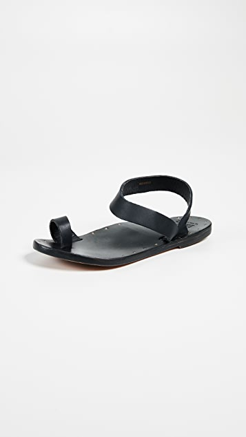 beek Oriole Sandals - Black/Black