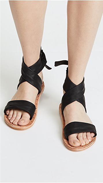 beek Canary Wrap Sandals
