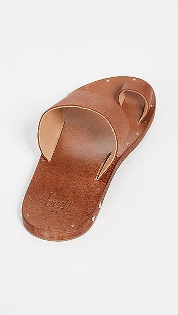 beek Finch 趾环无跟便鞋