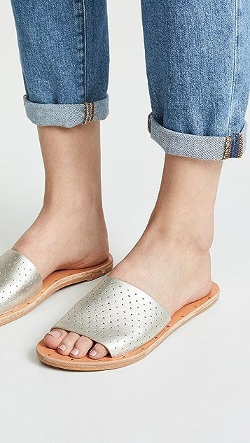 beek Перфорированные сандалии без задника Mockingbird