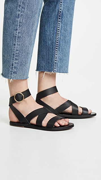 beek Lora Wrap Sandals