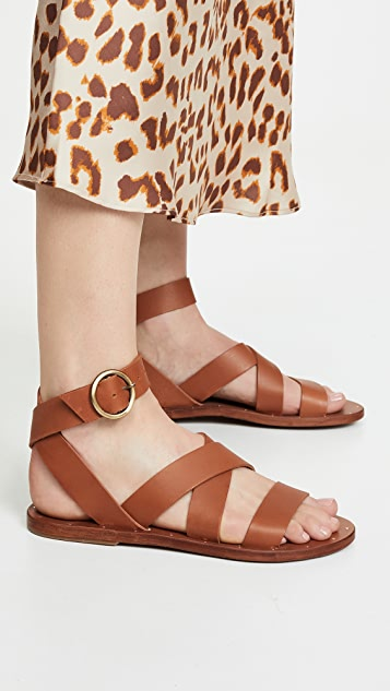 beek Lora 环绕式凉鞋