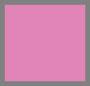 艳粉色/自然白