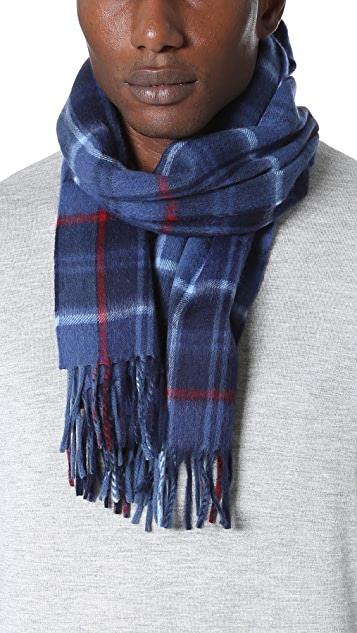 Begg & Co. Plaid Scarf
