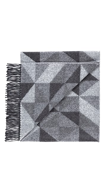 Begg & Co. Geometric Scarf