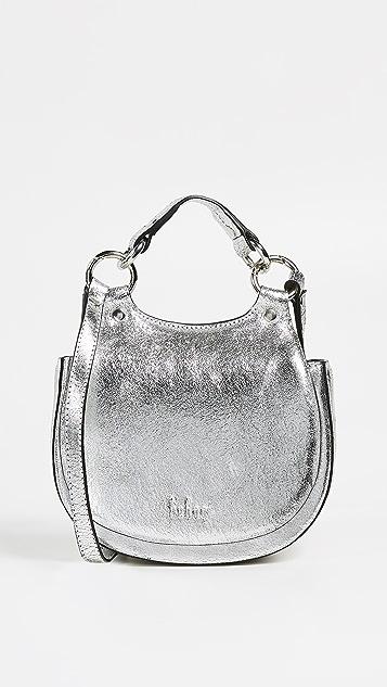 Behno Tilda Mini Metallic Saddle Bag