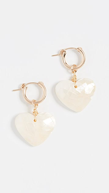 Little Love Earrings by Brinker &Amp; Eliza