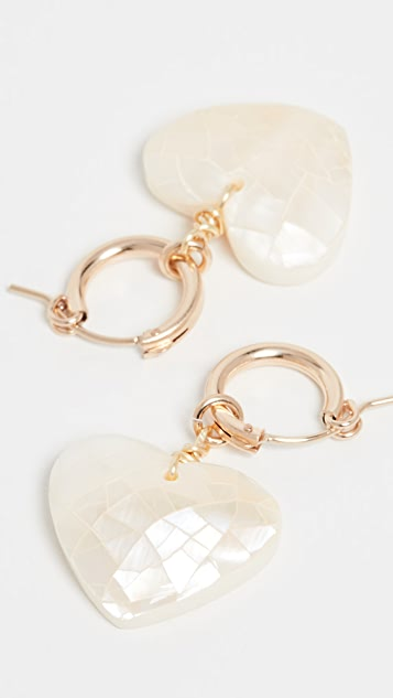 Brinker & Eliza Little Love Earrings