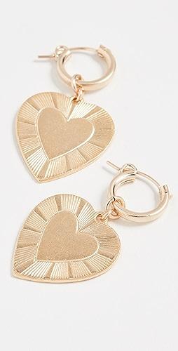 Brinker & Eliza - The Best Is Yet To Come Huggie Earrings