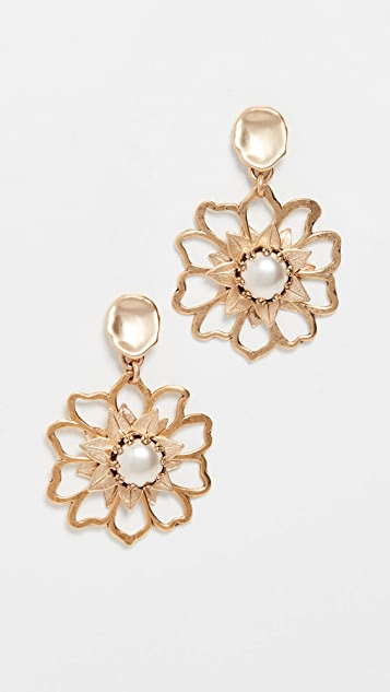 Brinker & Eliza Mini Flower Power Earrings