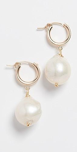 Brinker & Eliza - Back To Basics Huggie Earrings