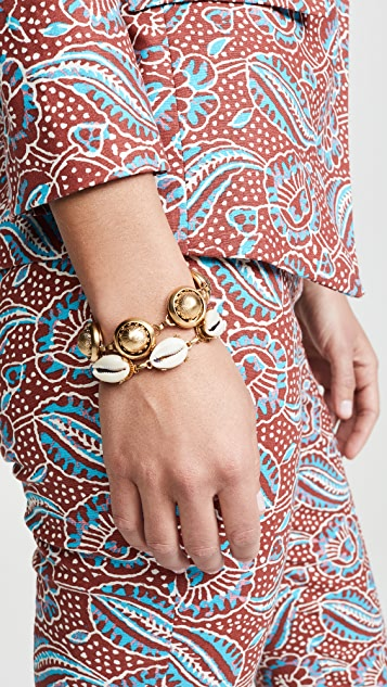 Brinker & Eliza Golden Baubles Bubble Bracelet