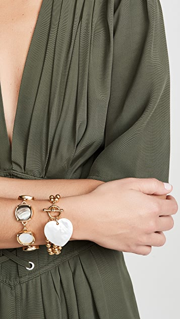 Brinker & Eliza Heart On Your Sleeve Bracelet