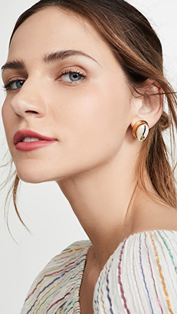 Brinker & Eliza Salty Air Stud Earrings